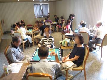 【イベント】健康マージャン、熱く開催!