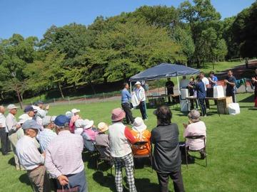 会員親睦グラウンドゴルフ大会、快晴に恵まれ開催!