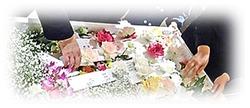 【心を紡ぐお葬式】お見送り用花短冊~詞の花~
